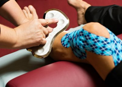 IASTM (instrument assisted soft tissue mobilization) or Blading